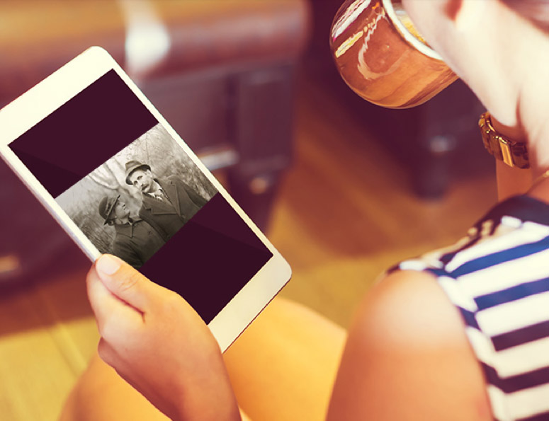 mobile photo scanning service